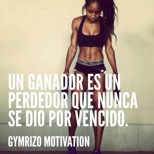 Motivación para entrenar