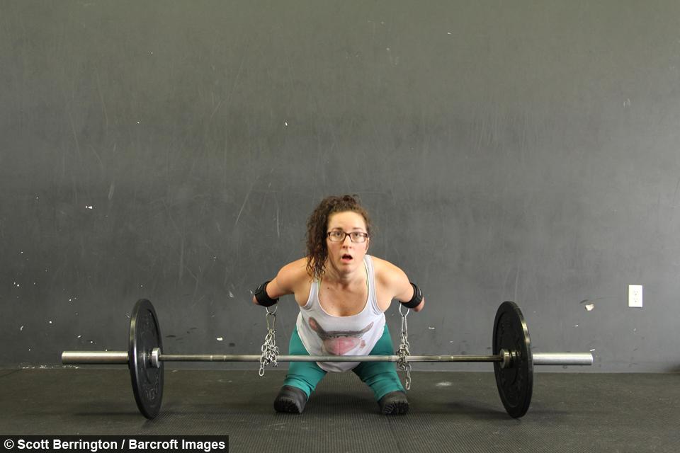 Lindsay Hilton, mujer sin extremidades aficionada al crossfit
