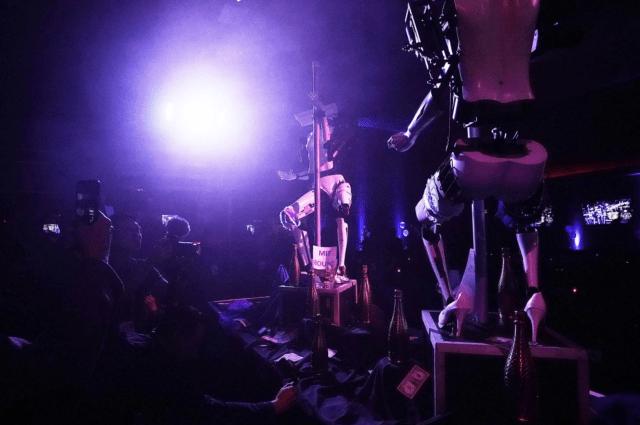 Strippers robóticas