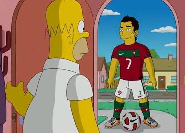 Top 5 de futbolistas que han salido en Los Simpson
