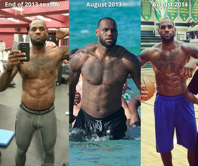 El secreto de la dieta de LeBron James