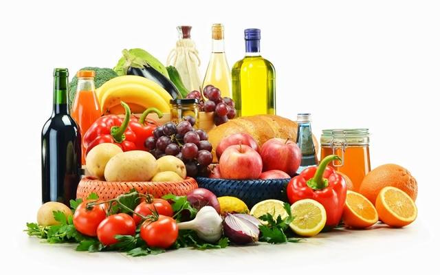 Alimentos básicos de la dieta mediterránea