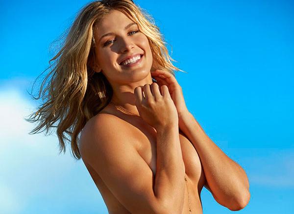 La tenista Eugénie Bouchard desnuda en Sport Illustrated