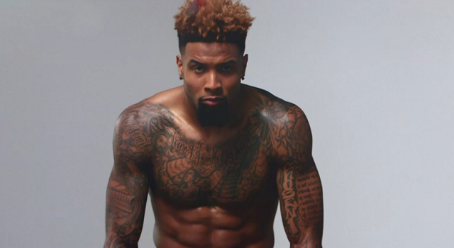 Más The Body Issue: ¡Odell Beckham Jr. desnudo!