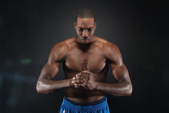 ¡Dwight Howard desnudo para ESPN!