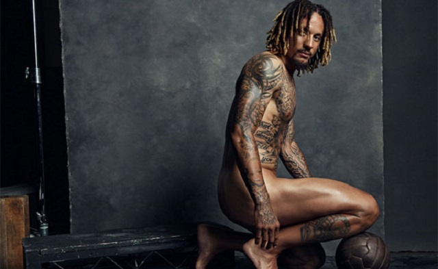 Que no pare The Body Issue: ¡Jermaine Jones desnudo!