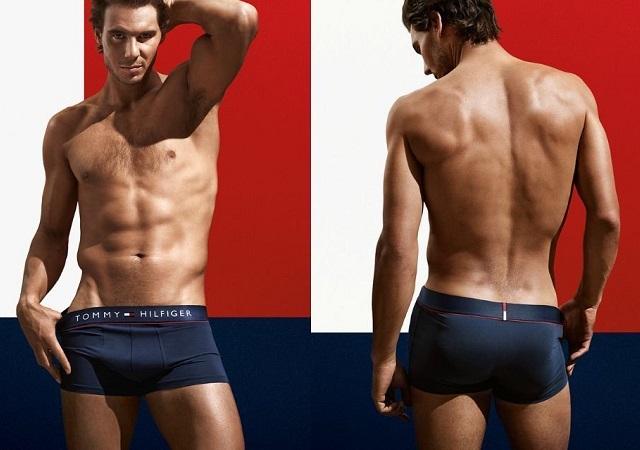 Rafa Nadal desnudo en la nueva campaña de Tommy Hilfiger