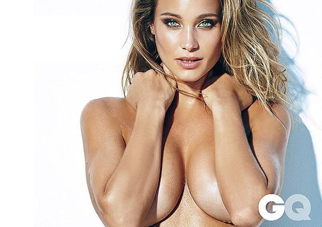 La novia de Derek Jeter: ¡Hannah Davis desnuda para GQ México!