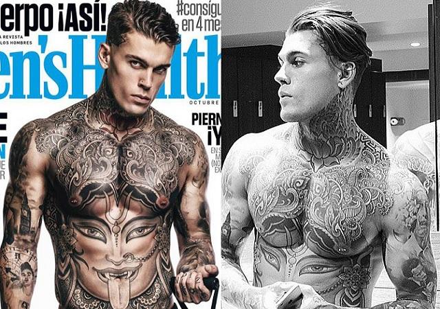Stephen James desnudo en la portada de Men´s Health