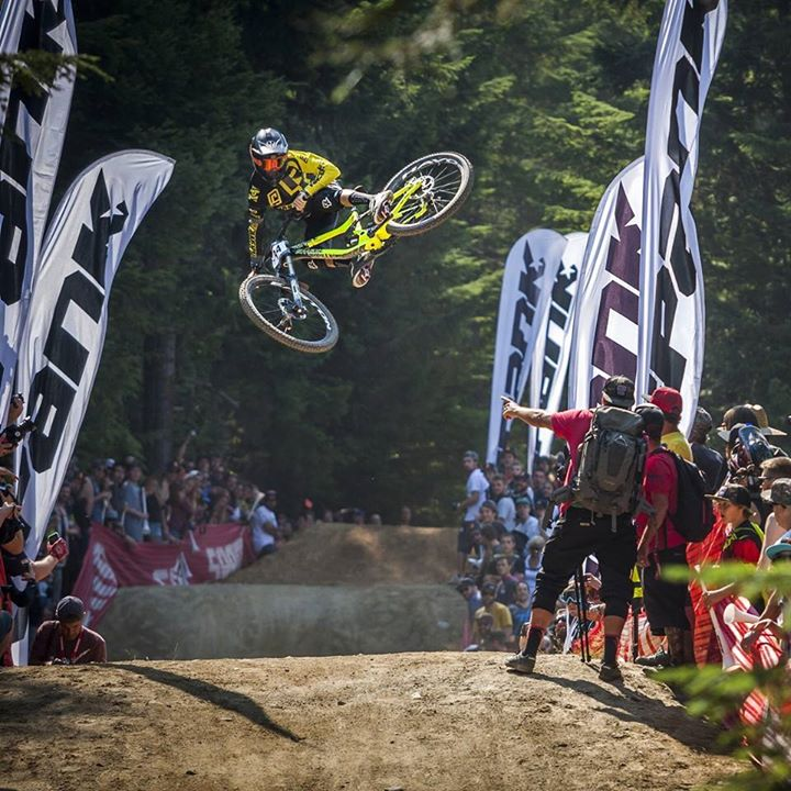 Remy Metailler en el Whitler Mountain Bike Park