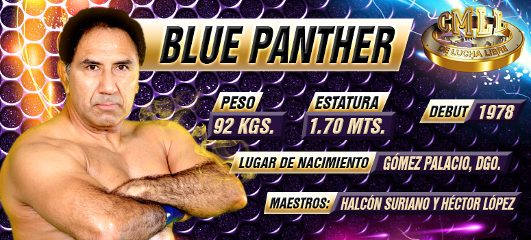Los mejores momentos de Blue Panther en la lucha libre mexicana