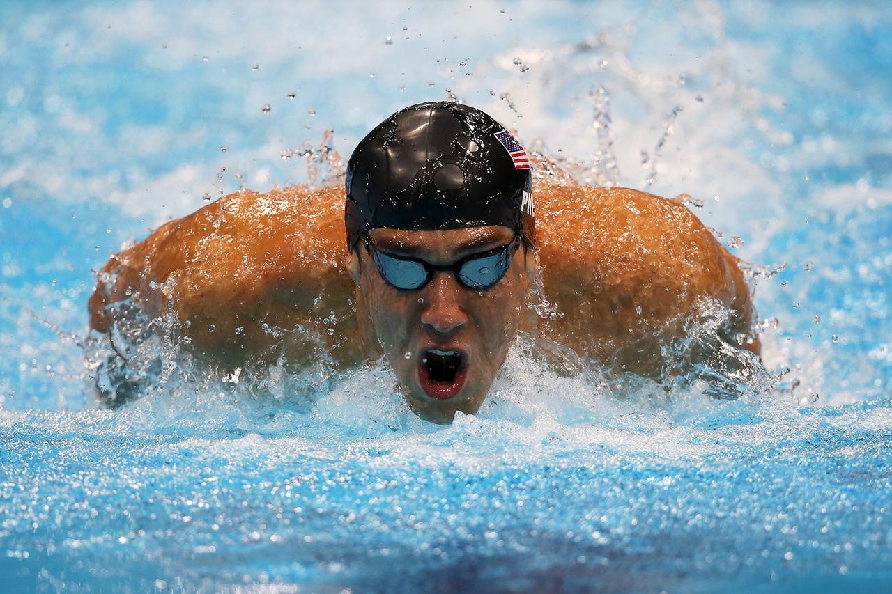 Homenaje a Michael Phelps, el mejor nadador de la historia