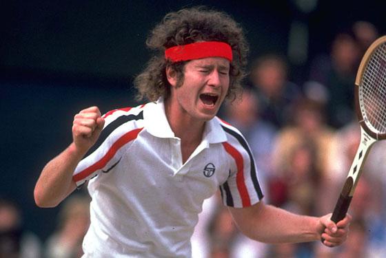 Homenaje a John McEnroe, uno de los mejores tenistas de la historia