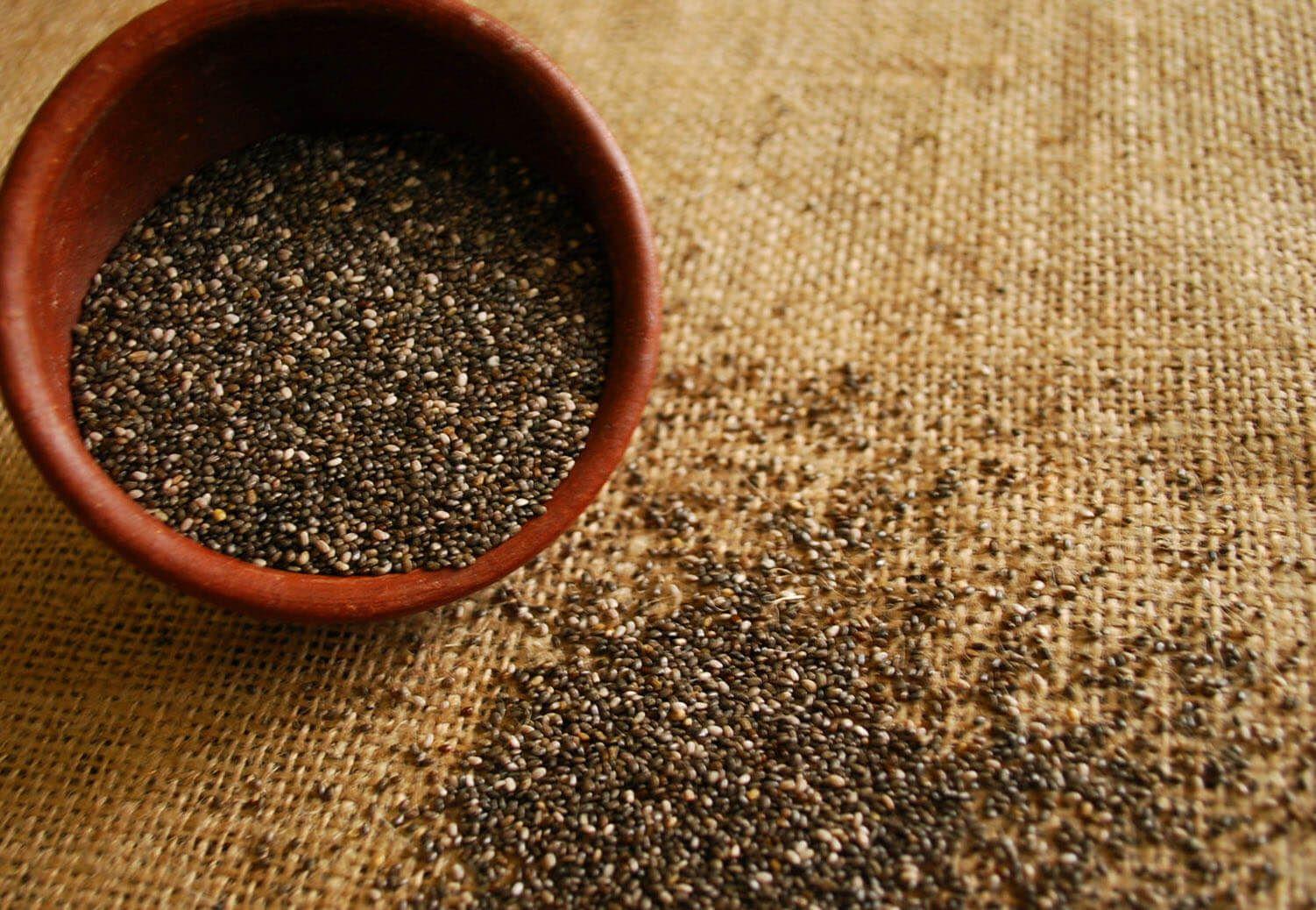 Intolerancia y alergia a las semillas de chia