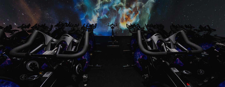 Spinning inmersivo: lo último en entrenamiento extremo