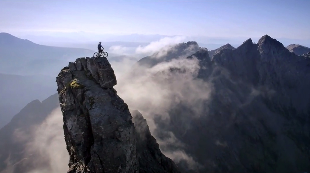 Mountain Bike extremo: un video que acumula 24 millones de visitas