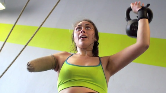 Krystal Cantú, la atleta con un solo brazo
