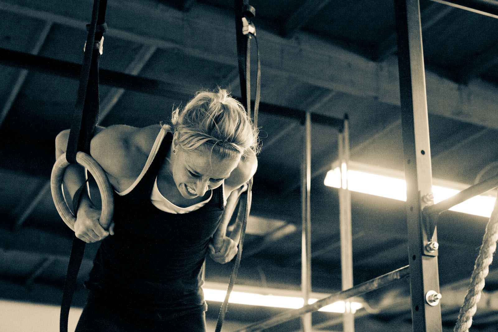 Ejercicios crossfit: muscle up
