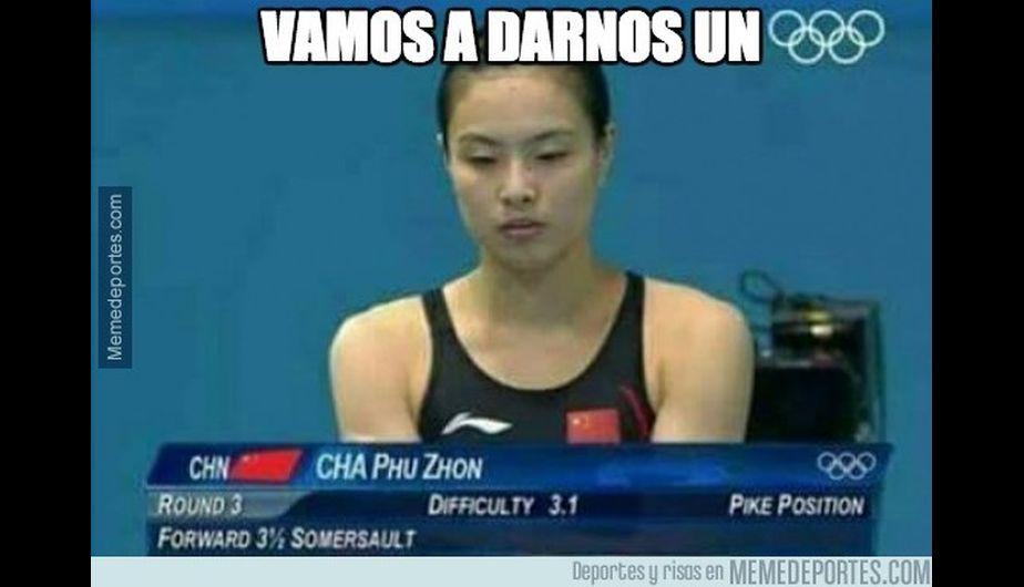 Los mejores memes de Rio 2016