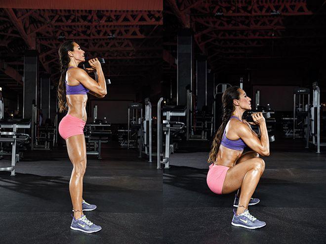 Ejercicios crossfit: cómo hacer un goblet squat