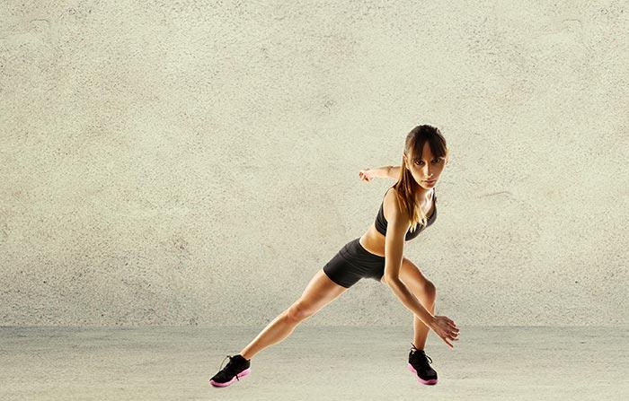 Salto del patinador: un ejercicio duro y completo