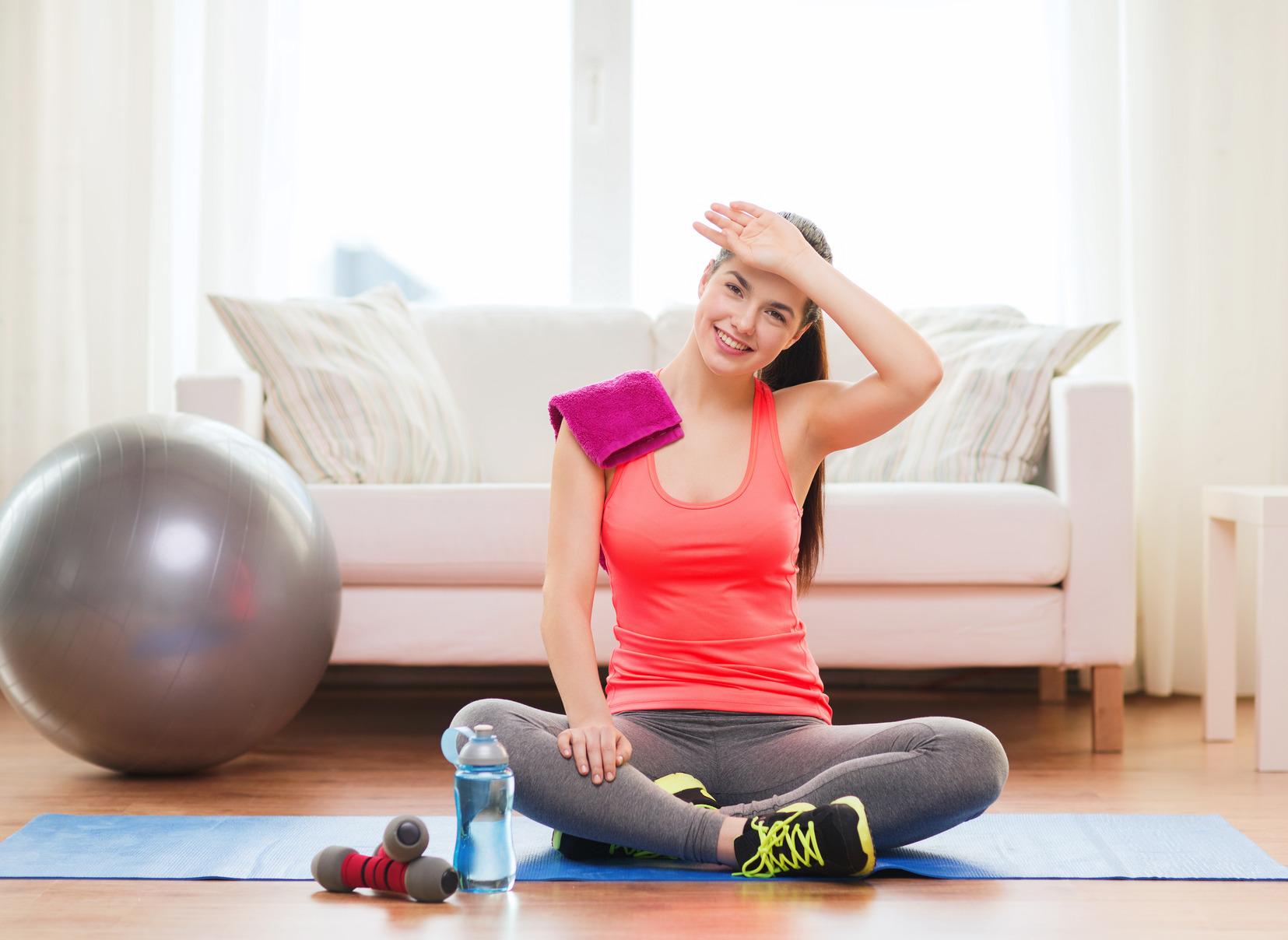 Los 5 mejores ejercicios para hacer en casa