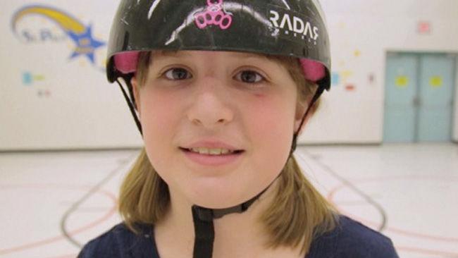 Así le salvó la vida el roller derby a esta niña transexual