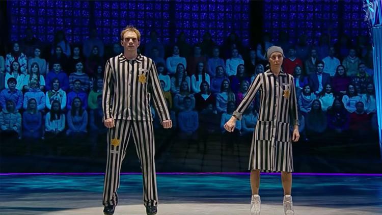 Una patinadora olímpica desata la polémica con 'El Holocausto sobre hielo'