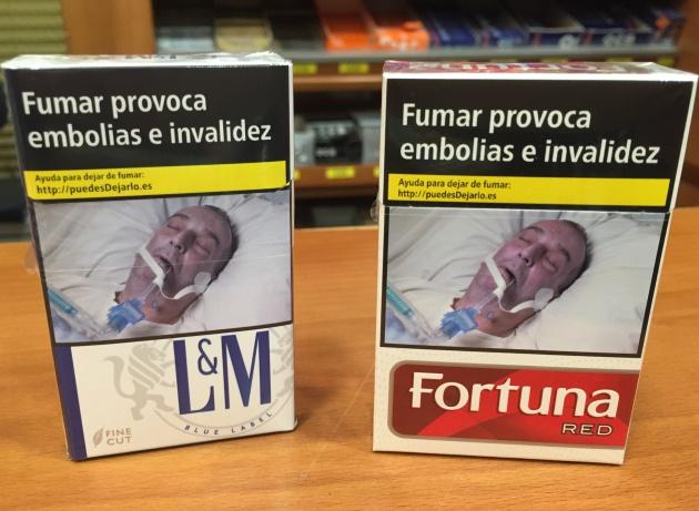 hombre foto tabaco