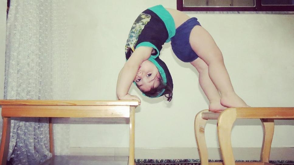 El gimnasta de 3 años que ha dejado sin palabras al jurado de un talent show