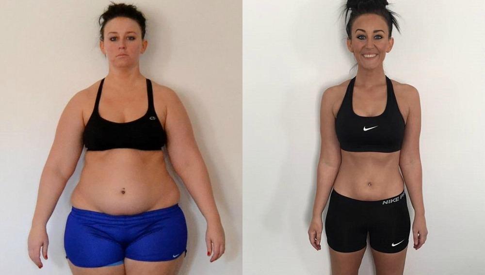 Adelgazar 10 kilos antes y despues de adelgazar