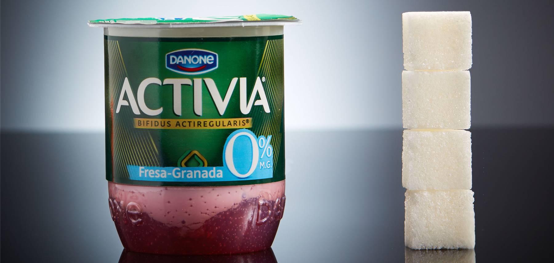 Las impactantes fotos que muestran todo el azúcar que consumes