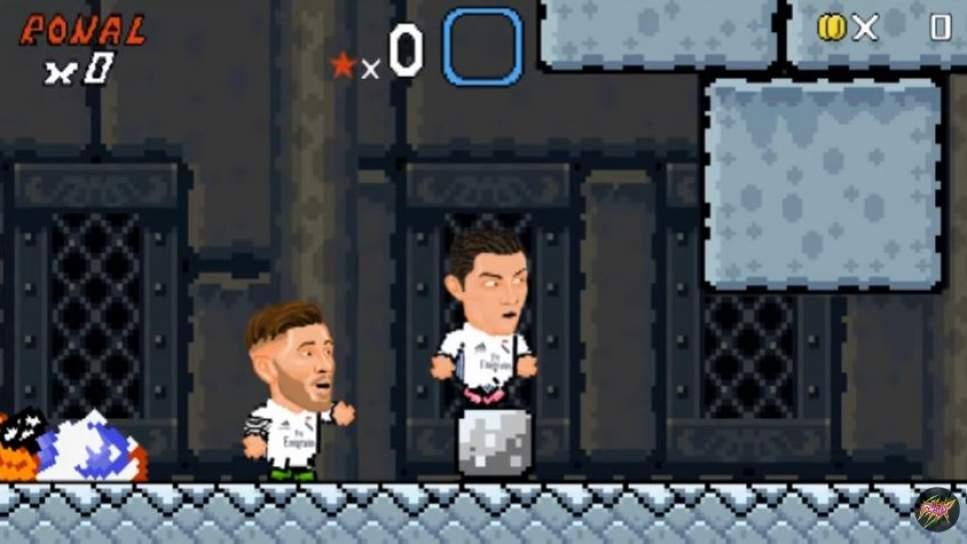 El vídeo viral que convierte a Cristiano Ronaldo, Messi e Higuaín en Super Mario