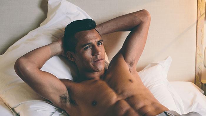 Las mejores fotos de Alexis Sanchez desnudo