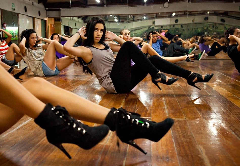 High heels Dance: el nuevo deporte que se practica en tacones