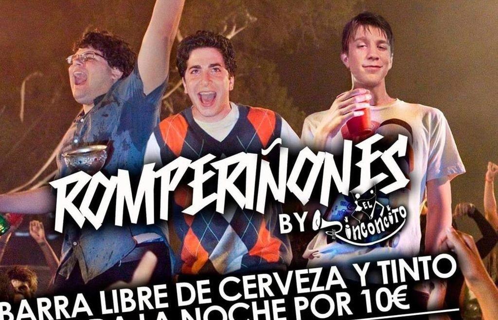 """""""Romperiñones"""": una fiesta con barra libre en la que no se permite orinar"""