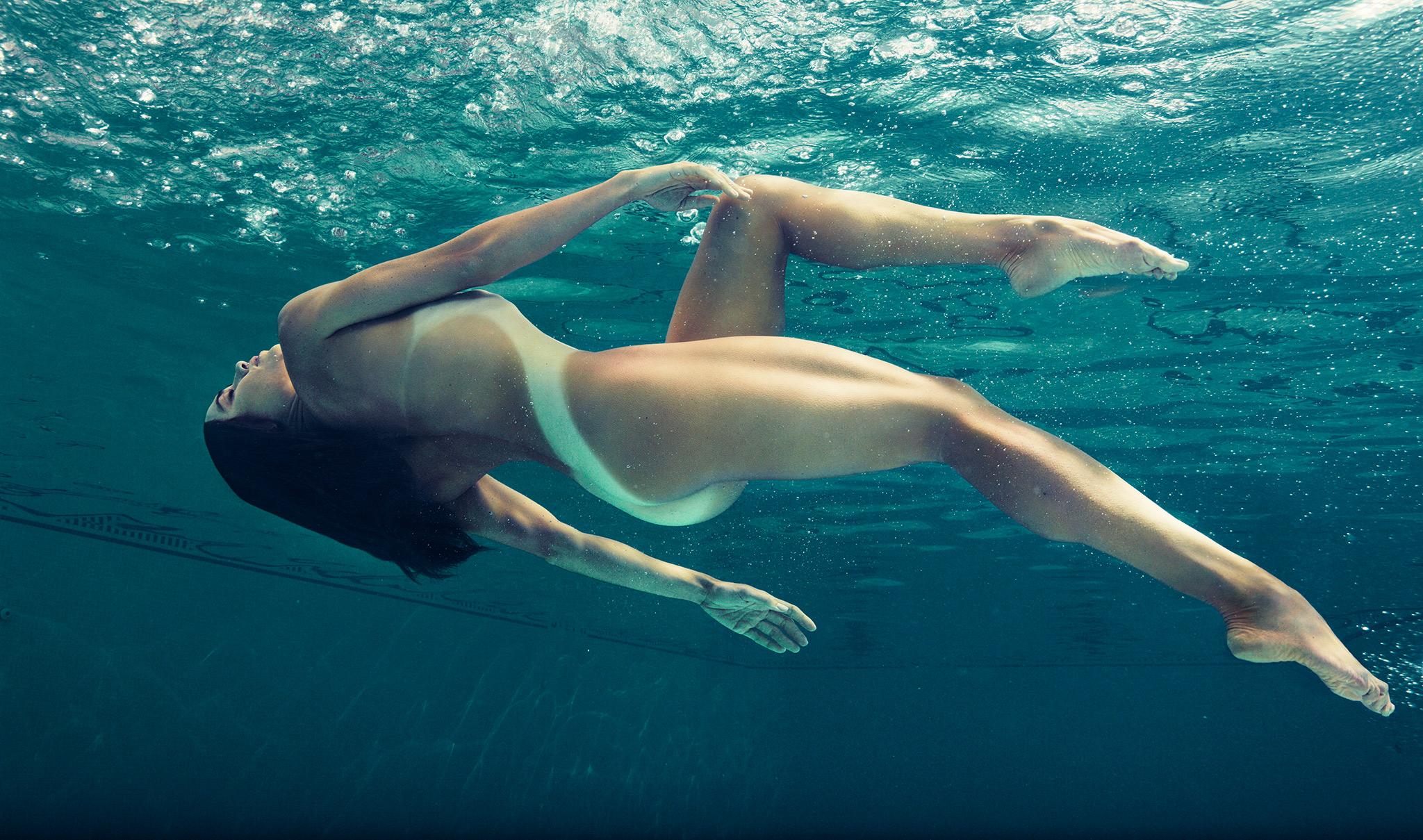 La sensualidad de la nadadora Natalie Coughlin desnuda