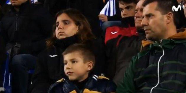 padre hijo futbol