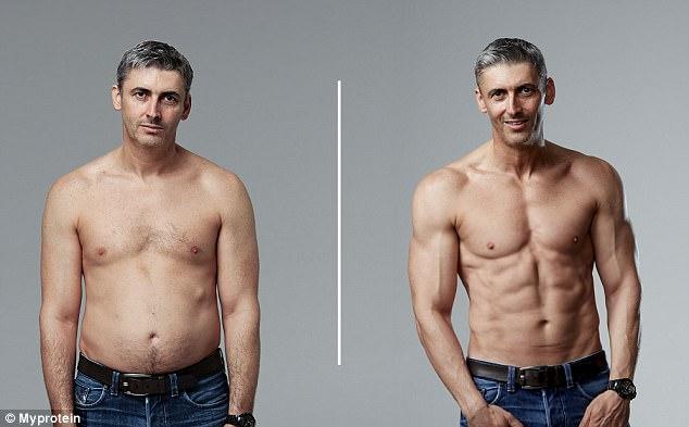 Cambia su físico en 12 semanas para demostrar a otros padres que nunca es tarde