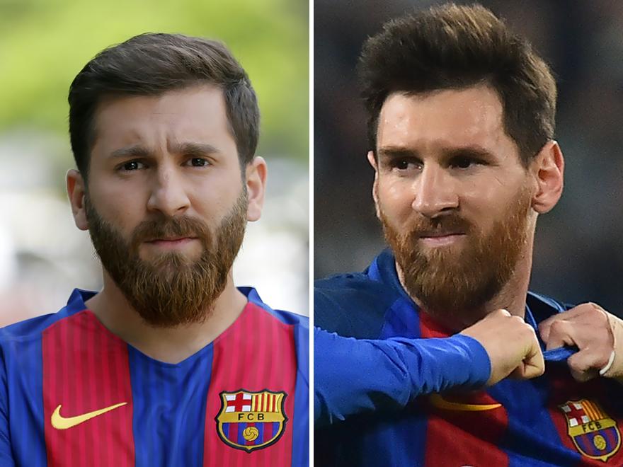Un hombre iraní ha sido arrestado por parecerse demasiado a Messi