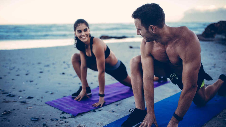Los mejores trucos para entrenar en la playa