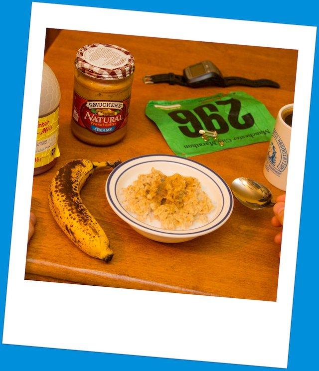 El desayuno ideal del runner