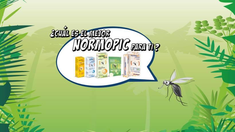 Acaba con las picaduras de mosquitos de un picotazo con Normopic