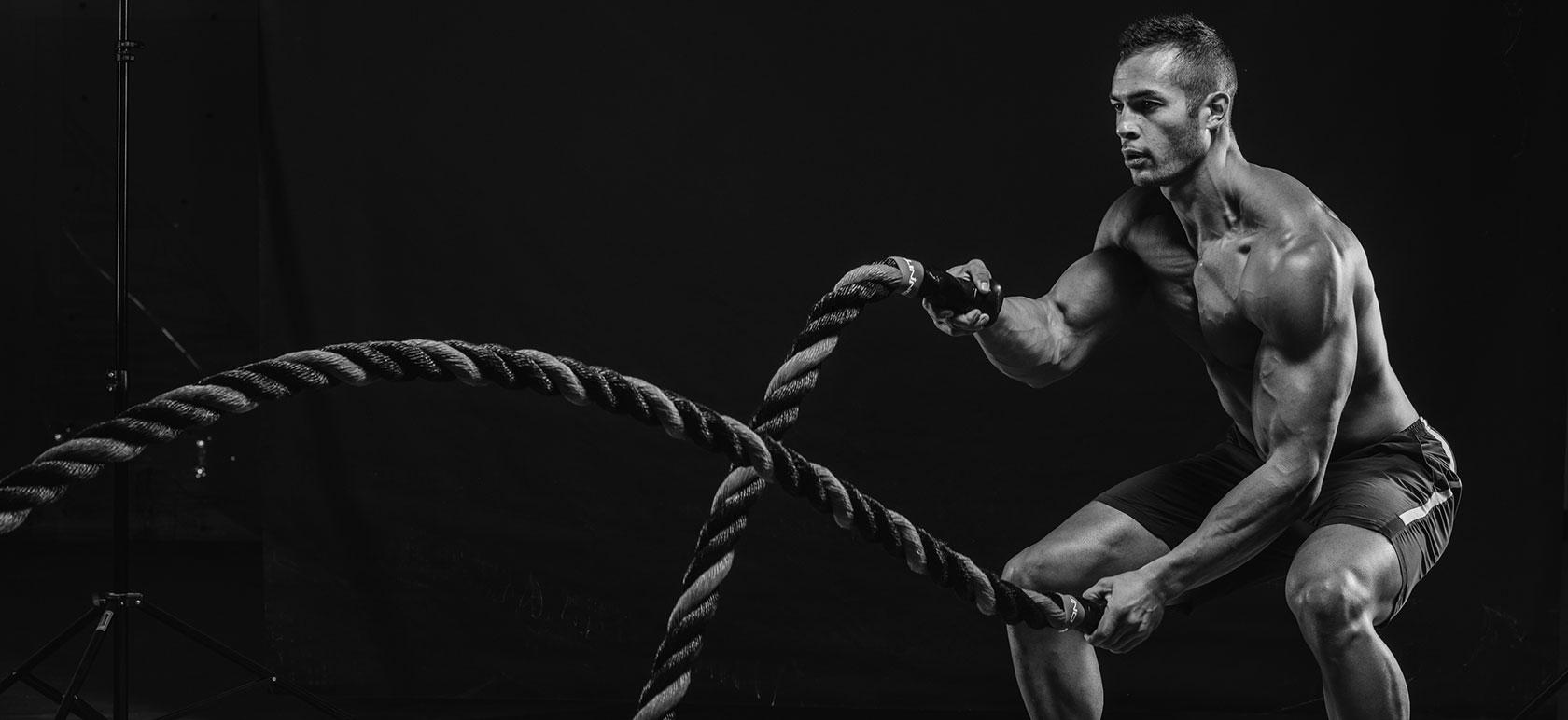 Battle ropes: el entrenamiento con cuerdas que está arrasando