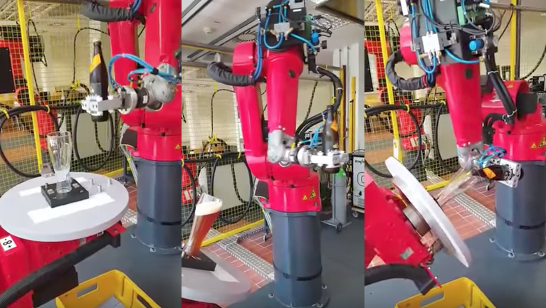 El robot cervecero: un robot creado para tirar la caña perfecta