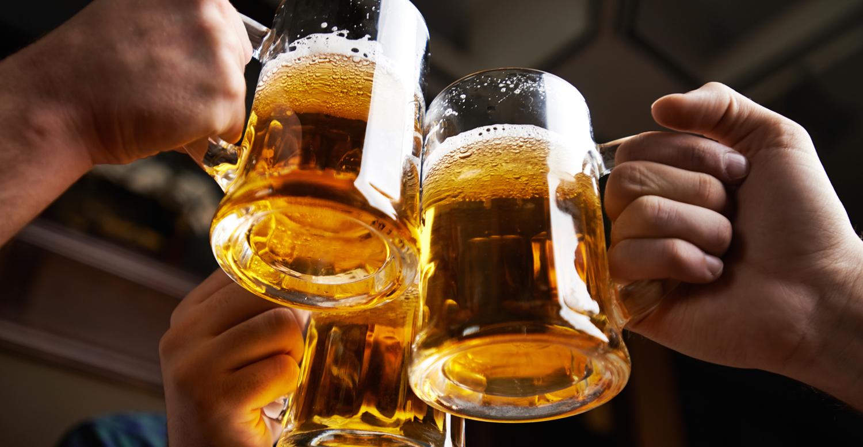 cerveza analgesico