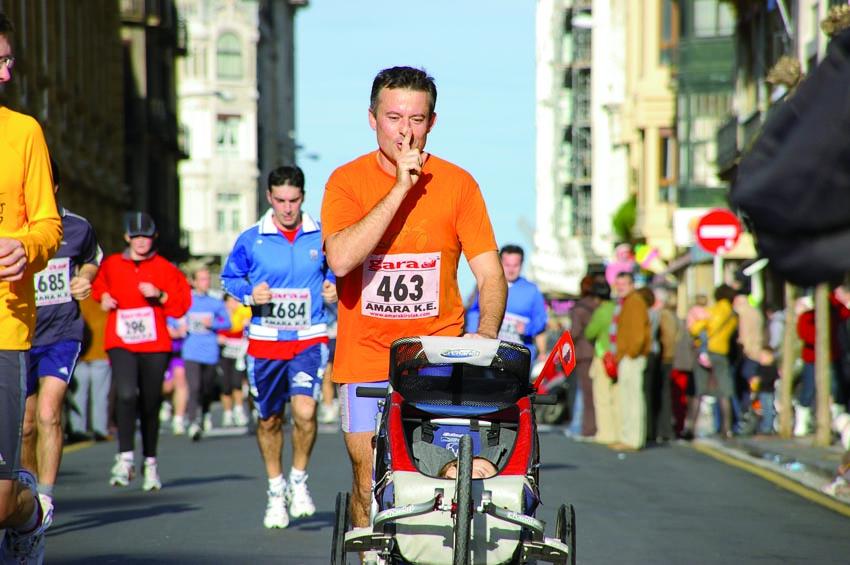 Practicar Running con el carrito de bebé