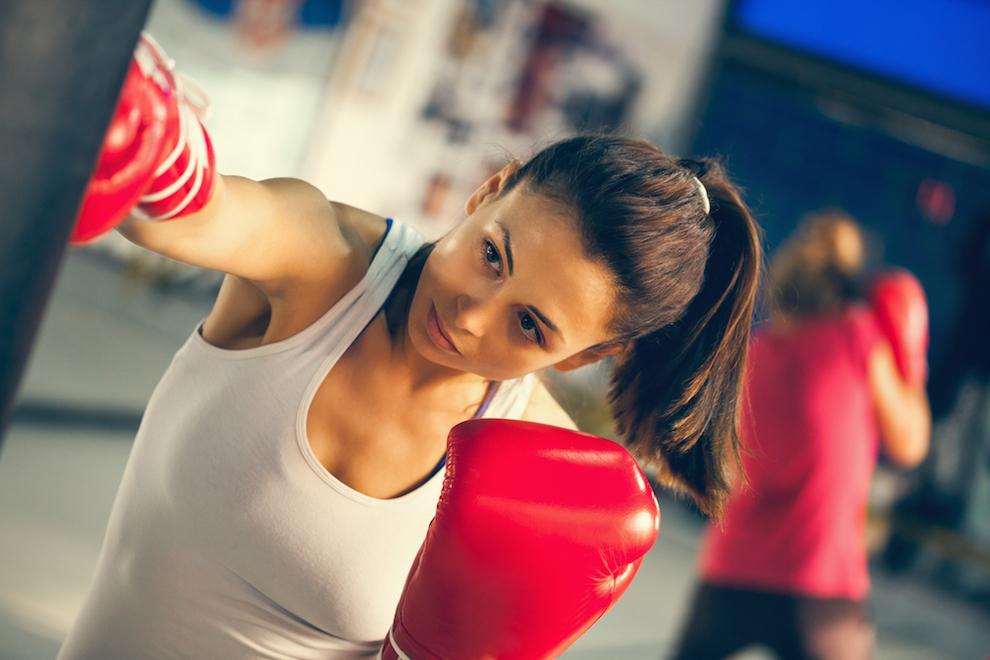 5 beneficios del boxeo para las mujeres