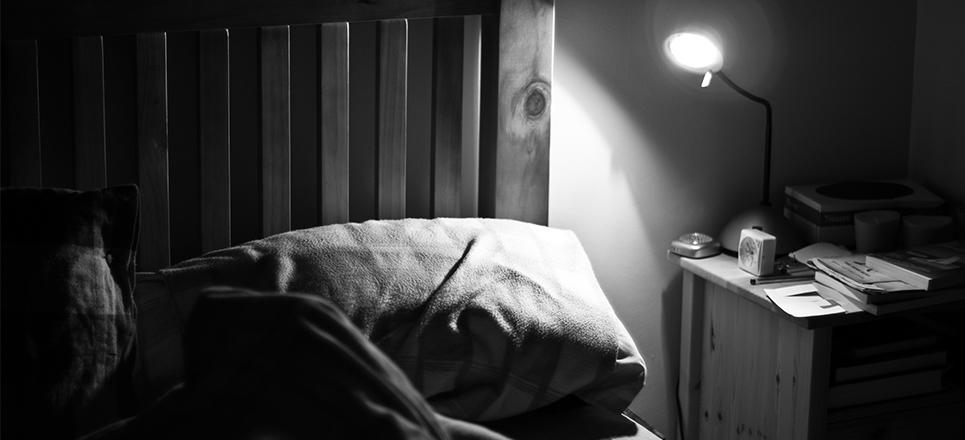 dormir a oscuras