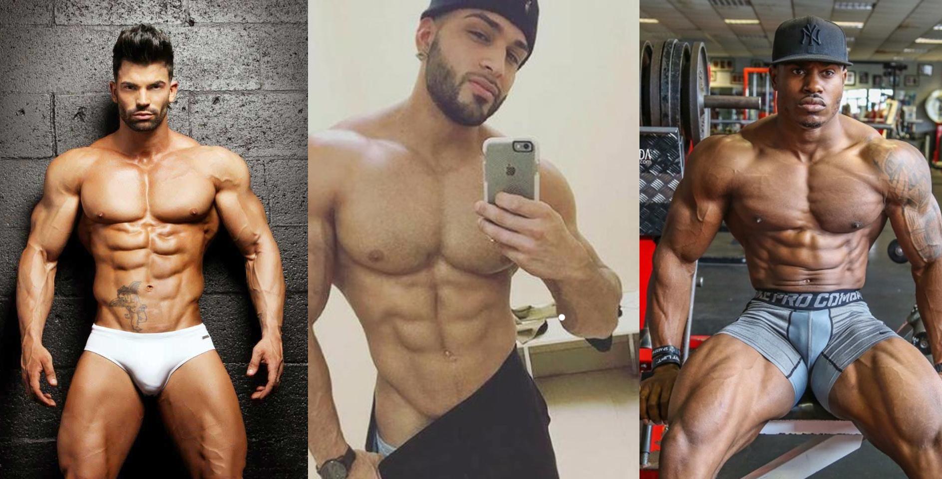 Los 5 modelos de fitness desnudos más sexis del mundo